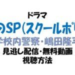 青のSP(スクールポリス) 見逃し配信動画を無料視聴する放送